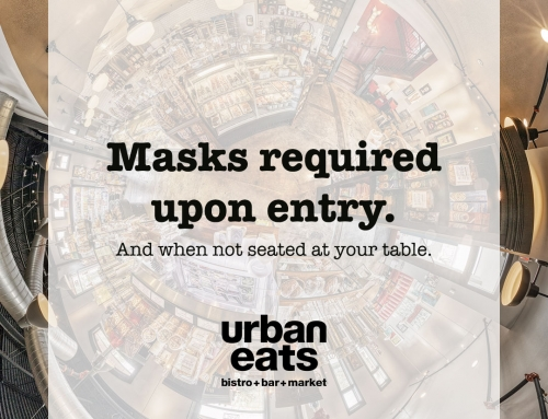 Masks required upon entry