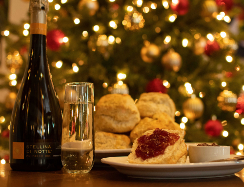 Celebrate the holidays with Biscuits & Prosecco