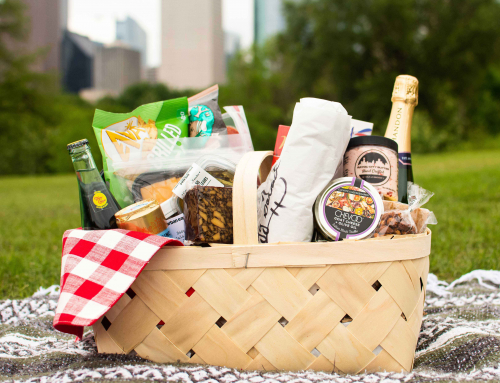 Enjoy a picnic in the park